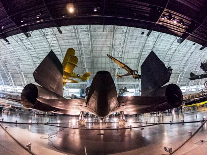 SR-71 Blackbird at the Smithsonian Air and Space Museum Udvar-Hazy Center