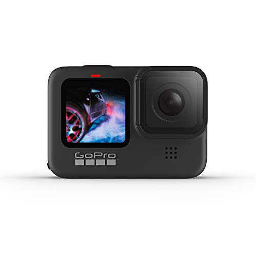GoPro HERO9 Black - Waterproof Action Camera with Front LCD and Touch Rear Screens,...