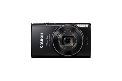 Canon PowerShot ELPH 360 Digital Camera w/ 12x Optical Zoom and Image Stabilization -...