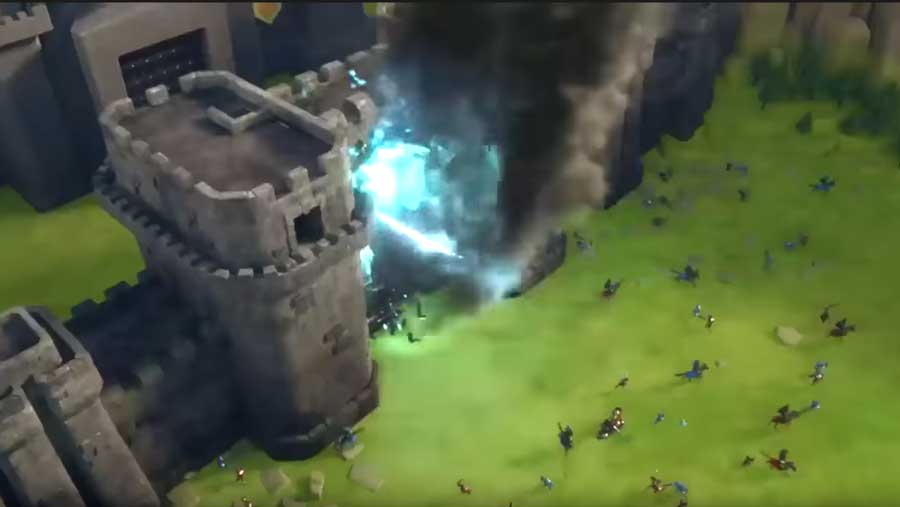 Attacking Castle Walls