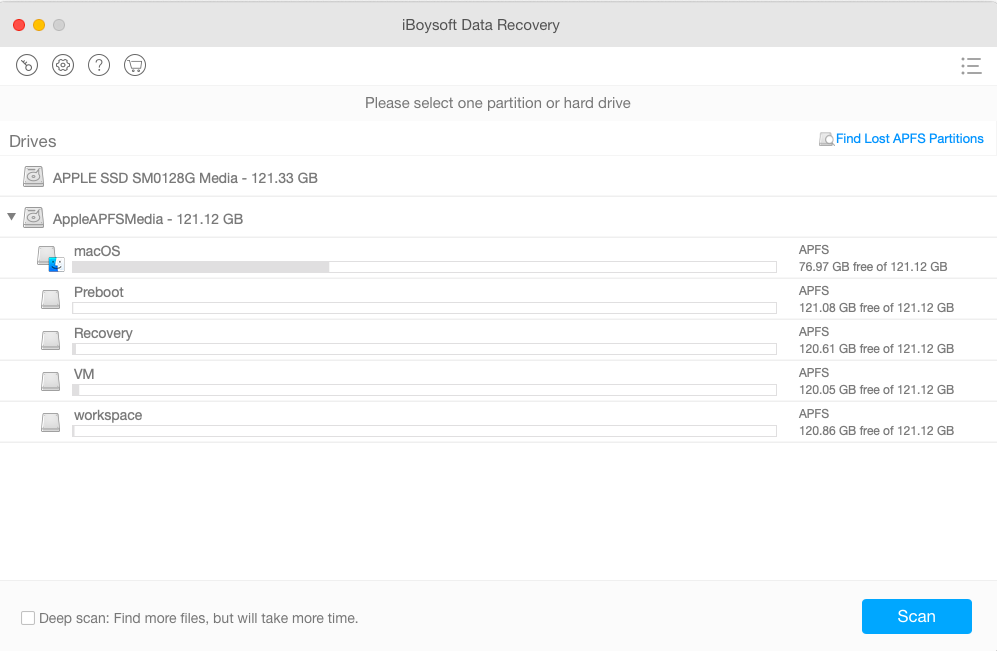 Recover lost data from My Passport for Mac external hard drive with iBoysoft Data Recovery for Mac