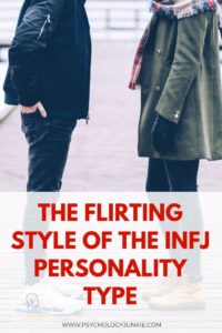 Not sure if an INFJ likes you? Get a look at their flirting style #INFJ #MBTI #Personality